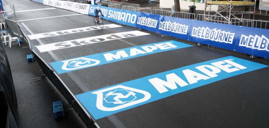Marathon-beschriftung-Sponsorenaufkleber