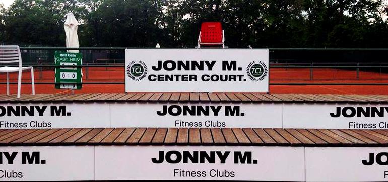 Jonny M. – Bandenwerbung