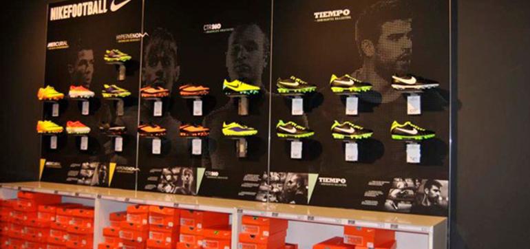 Wandbeklebung – Nike Store